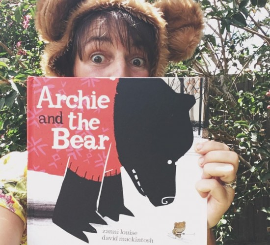 archie and the bear arrived