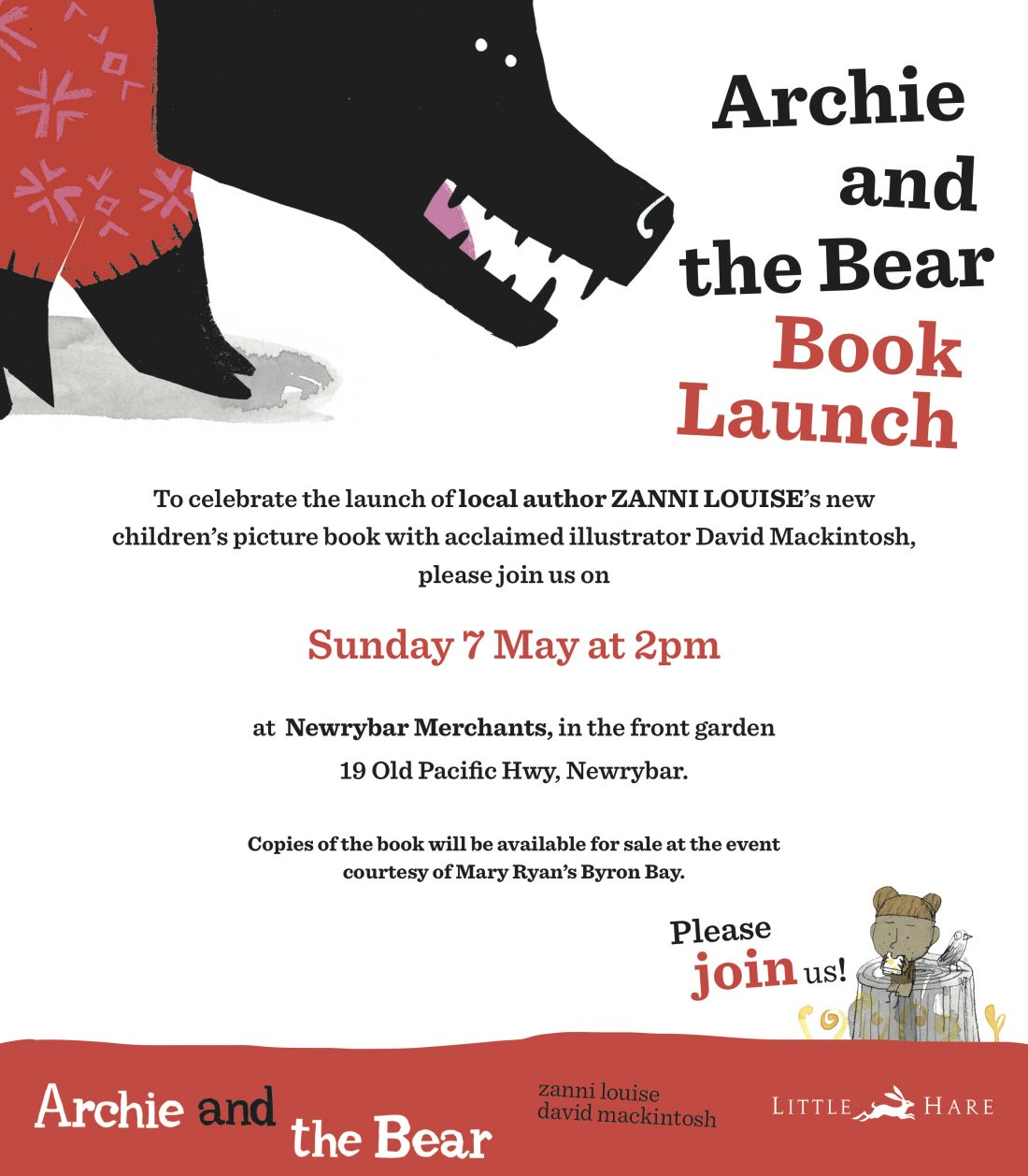 archie and the bear launch